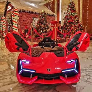 Siêu xe ô tô điện trẻ em Lamborghini NEL-603. Ibox shop để chọn màu nhé 😘