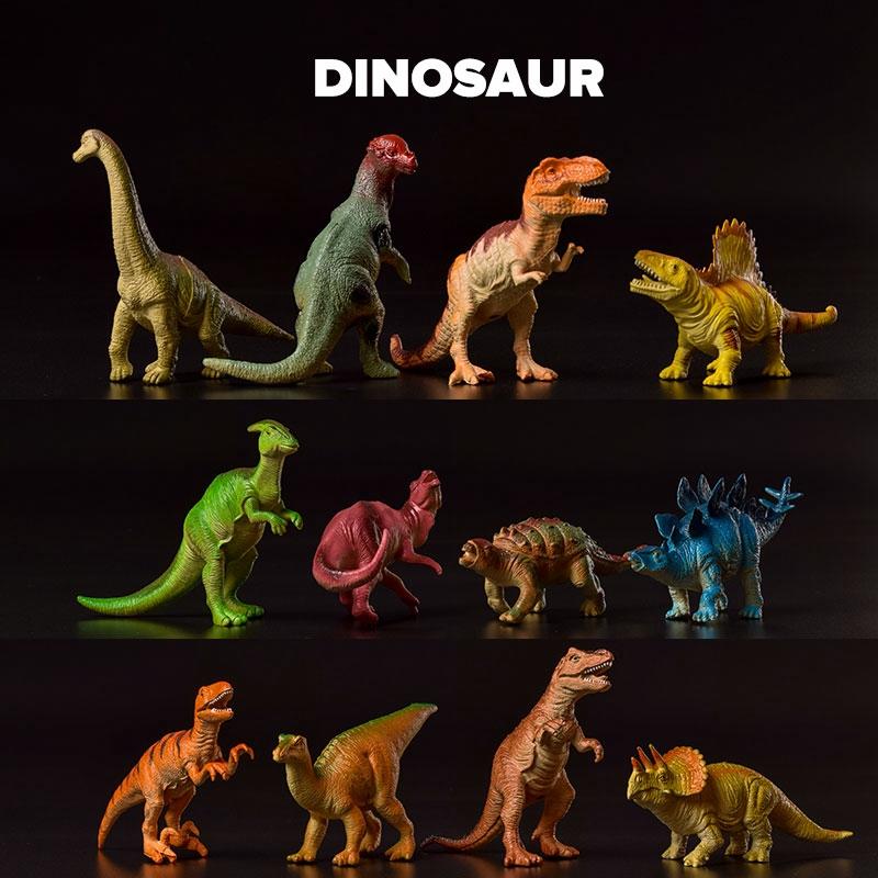 ชุดของเล่นไดโนเสาร์ขนาดเล็ก jurassic world