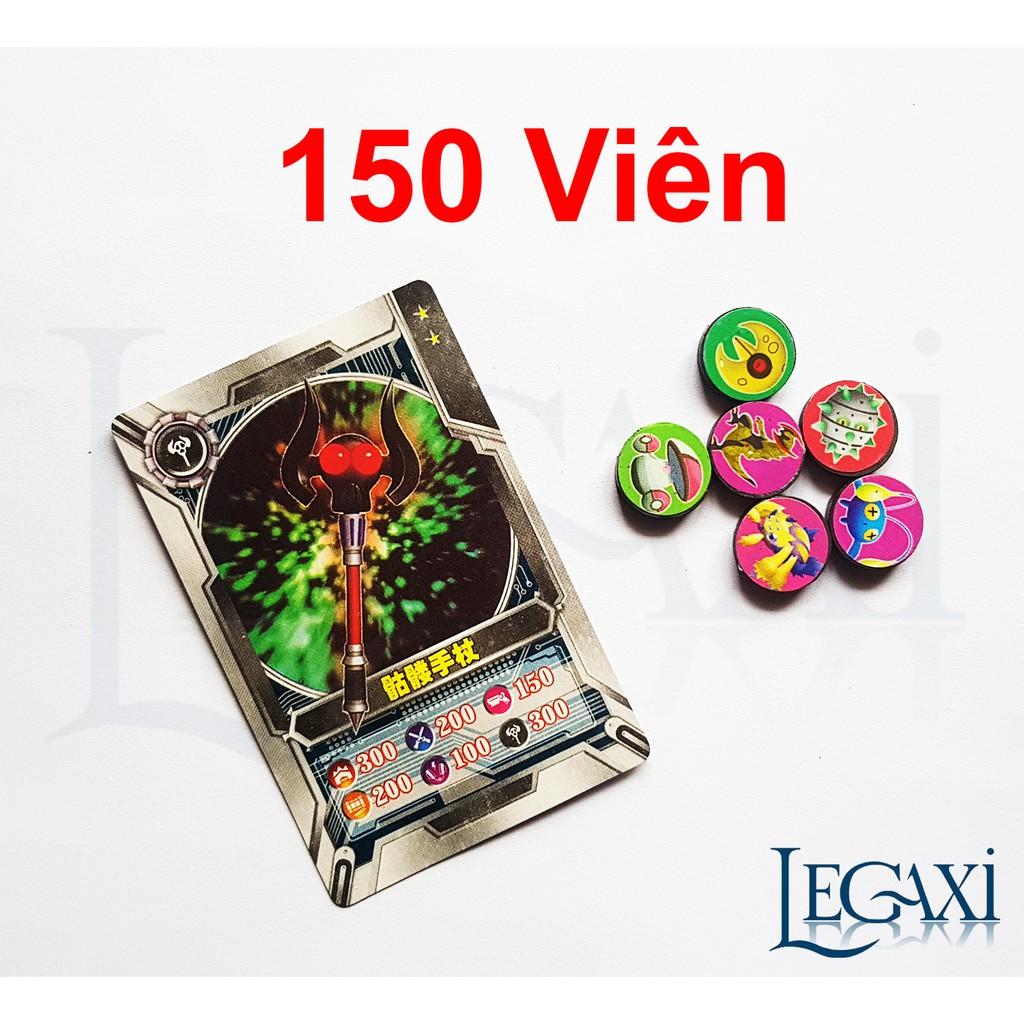 Combo 150 Viên Nam Châm Pokemon