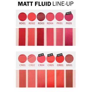 Son Tint A Pieu Color Lip Stain (Matte Fluid) 4.4g-3