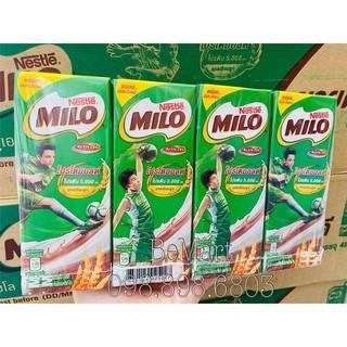 [ Lốc 8 Hộp ] SỮA UỐNG CACAO MILO PHA SẴN Thái Lan