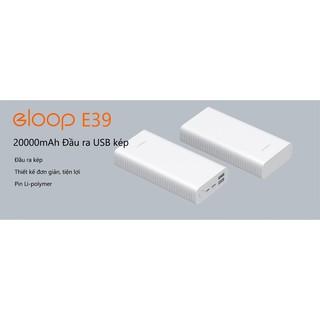 [Mã ELMSBC giảm 8% đơn 300K] Pin Sạc Dự Phòng Eloop E39 20.000mAh - Hãng Phân Phối Chính Thức
