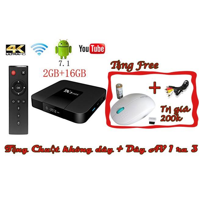 Android Tivi Box Tx3 mini Ram 2GB - Rom 1GB tặng Chuột không dây cao cấp và Dây AV - 3188473 , 1089539724 , 322_1089539724 , 699000 , Android-Tivi-Box-Tx3-mini-Ram-2GB-Rom-1GB-tang-Chuot-khong-day-cao-cap-va-Day-AV-322_1089539724 , shopee.vn , Android Tivi Box Tx3 mini Ram 2GB - Rom 1GB tặng Chuột không dây cao cấp và Dây AV