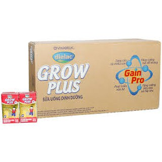 Sữa Bột Pha Sẵn Grow Plus đỏ 110ml Vinamilk date mới nhất thumbnail