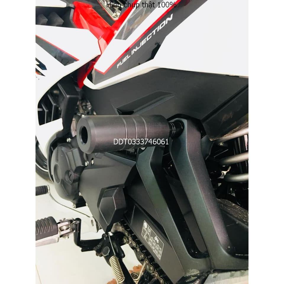 Gù chống đổ mô tô dành cho các loại xe máy Exciter, Winner ..... loại 1