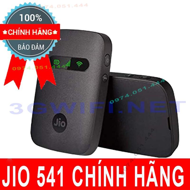 Bộ Phát Wifi 4G Jio 541 - Cục Phát Wifi Di Động Jio Super 4G phát 12 máy kết nối, Bộ phát 3G/4G Mifi LTE Tốc độ 150