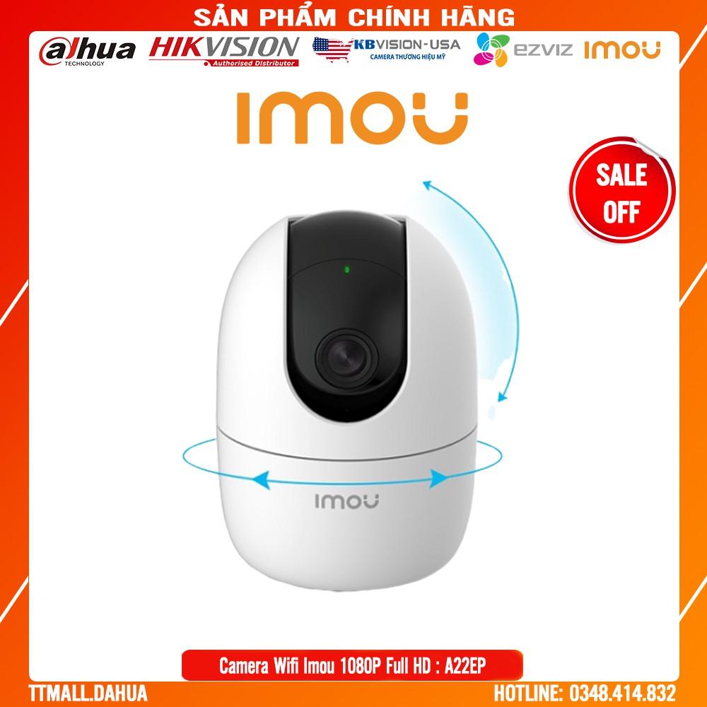 Camera Dahua IMOU IPC-A22EP + C22EP 2M 1080P Full HD -Quay 360 -  Bảo hành chính hãng 2 năm