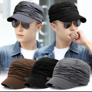 Nón beret nam nữ thời trang Hàn Quốc
