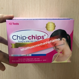 Que thử thai Chip Chips ( Hộp 12 chiếc )