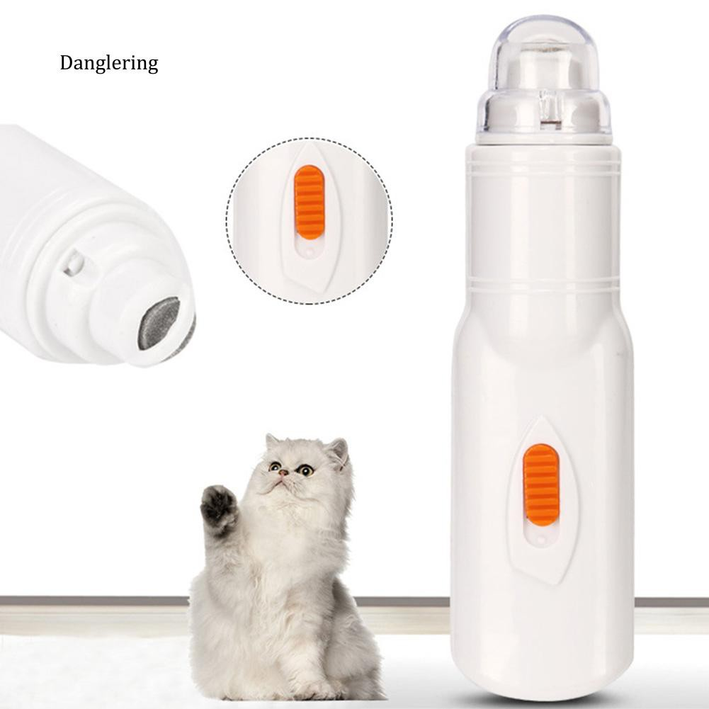 【DGLG】Dog Cat Pet Nail Grinder Trimmer Clipper Electric Professional Grooming Tool