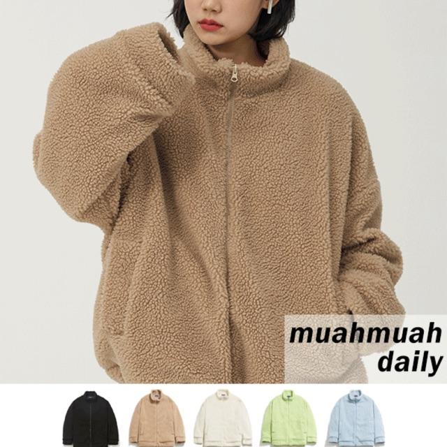 Áo khoác lông 5 màu Muahmuah