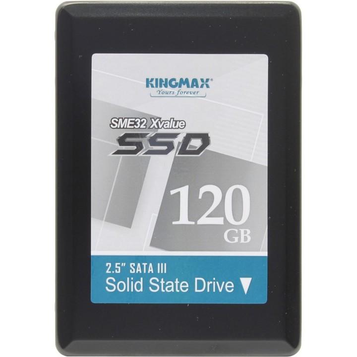 Ổ cứng thể rắn SSD Kingmax 120GB KM120GSME32 - 9989027 , 1237790040 , 322_1237790040 , 1099000 , O-cung-the-ran-SSD-Kingmax-120GB-KM120GSME32-322_1237790040 , shopee.vn , Ổ cứng thể rắn SSD Kingmax 120GB KM120GSME32