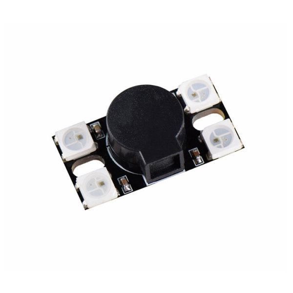 110DB Super Loud Active Buzzer with WS2812 LED Light for RC Models Multicopter DIY Part Accessories