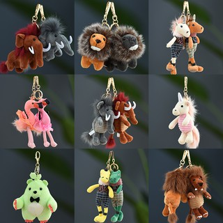 Plush keychain cute girl bag bag key pendant small doll smal