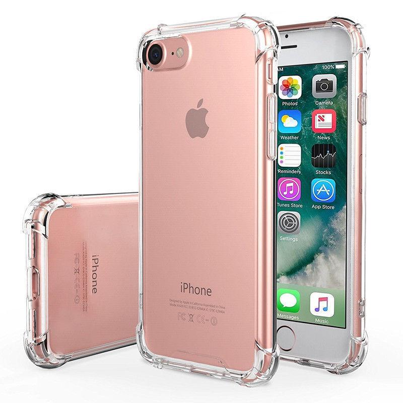 Chống Sốc Ốp Lưng Tpu Silicone Trong Suốt Cho Iphone 6s Plus 7 8 X thumbnail