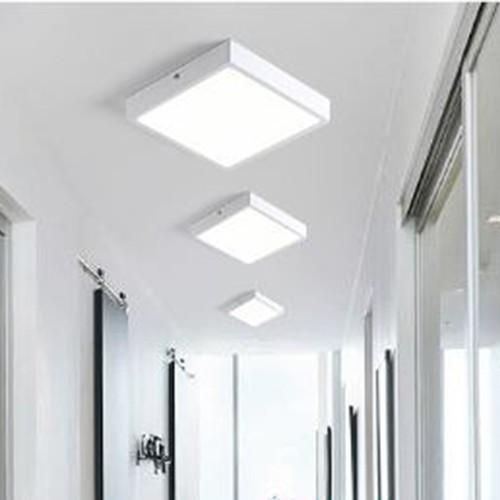 Đèn ốp trần nổi vuông 12W, 18W, 24W KAISA 2 màu ánh sáng hiện đại