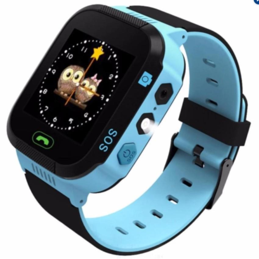 Đồng hồ thông minh trẻ em 2 màu xanh - hồng Smart Watch Q528 Tracker 2