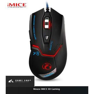 Chuột Gaming IMICE X8 Dây dù - Led 7 thumbnail