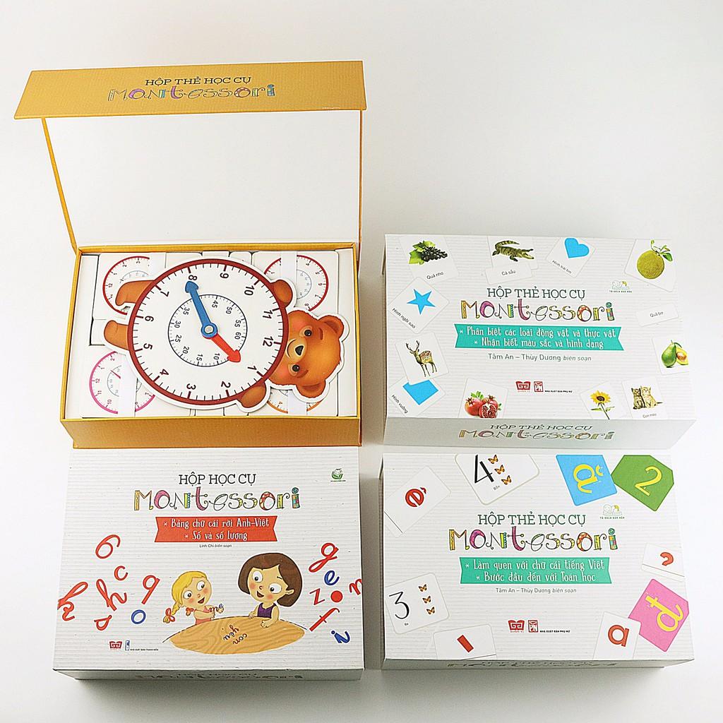 Sách - Set full 4 hộp học cụ Montessori - 2540960 , 1140388270 , 322_1140388270 , 1598000 , Sach-Set-full-4-hop-hoc-cu-Montessori-322_1140388270 , shopee.vn , Sách - Set full 4 hộp học cụ Montessori