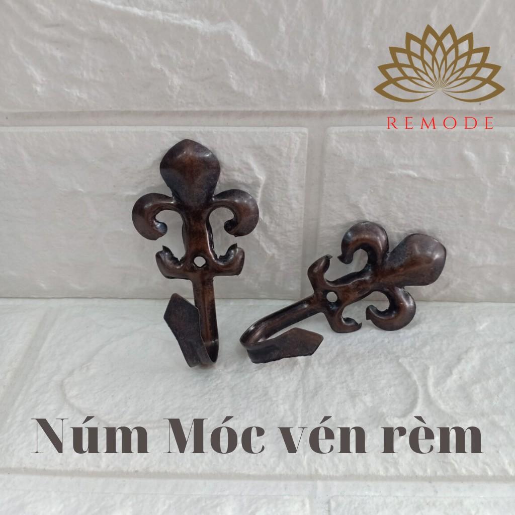 Rèm cửa ❤️2 chiếc núm Móc vén rèm hợp kim (Hàng loại 2)