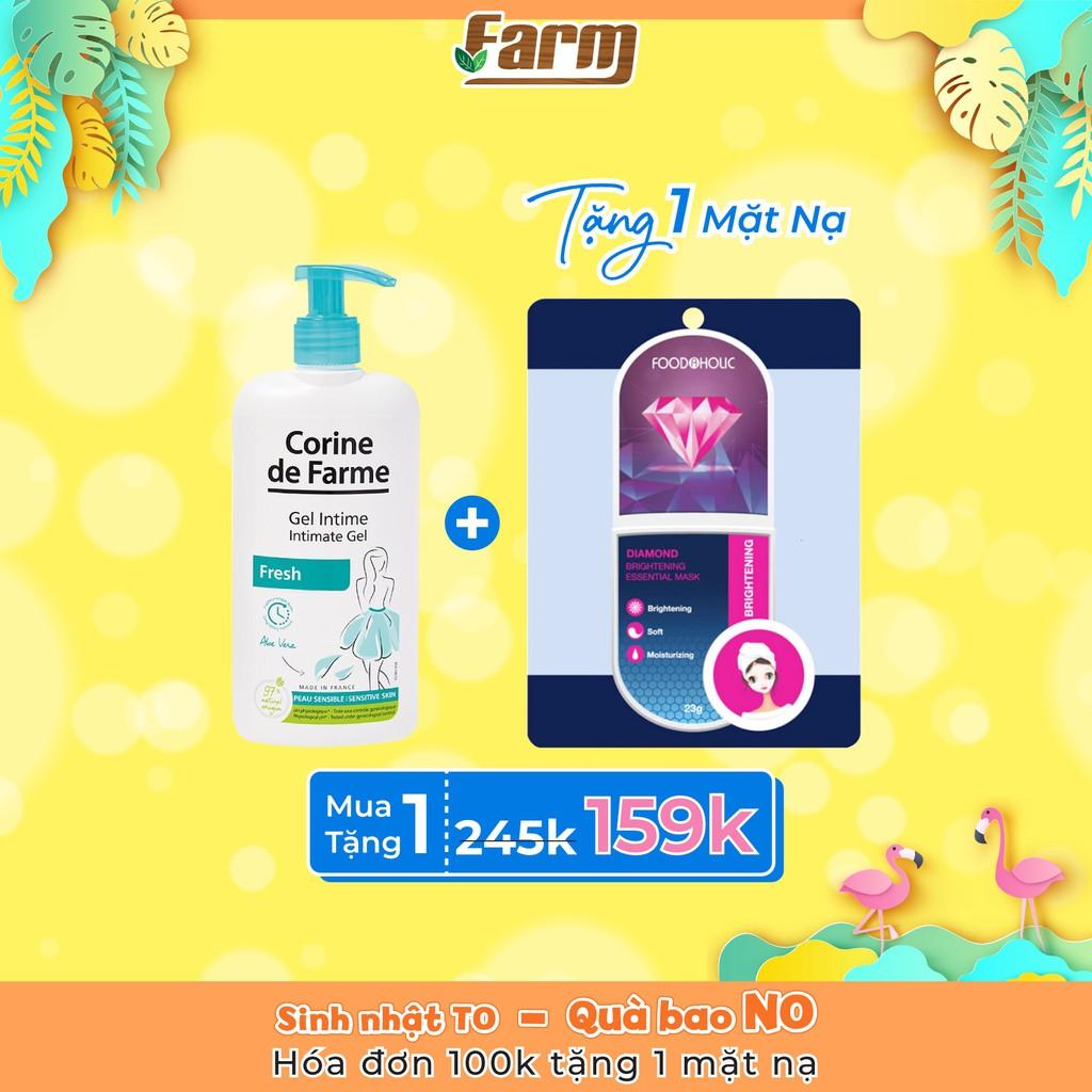 Gel hữu cơ vệ sinh vùng kín, khử mùi Corine De Farm (Fresh)