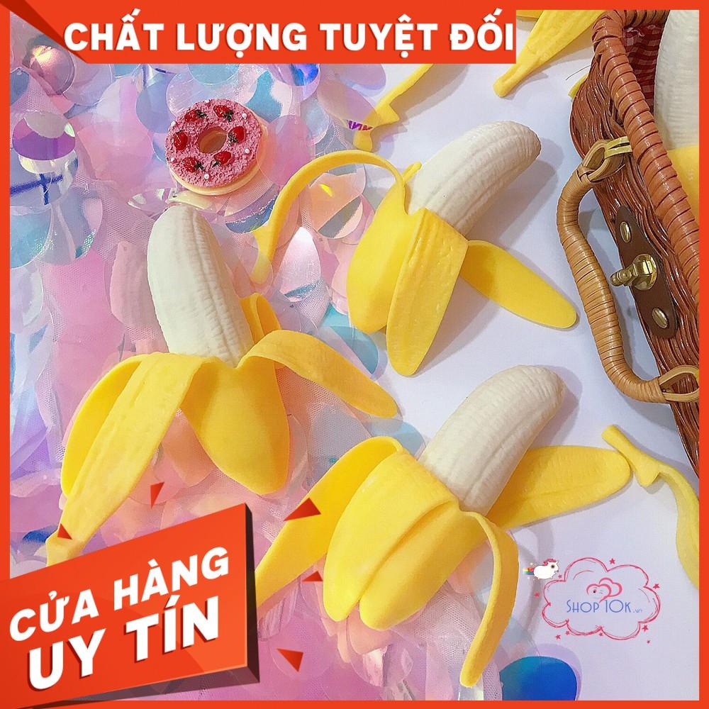 Squishy chuối bóp xả stress như thật (shop10khn)