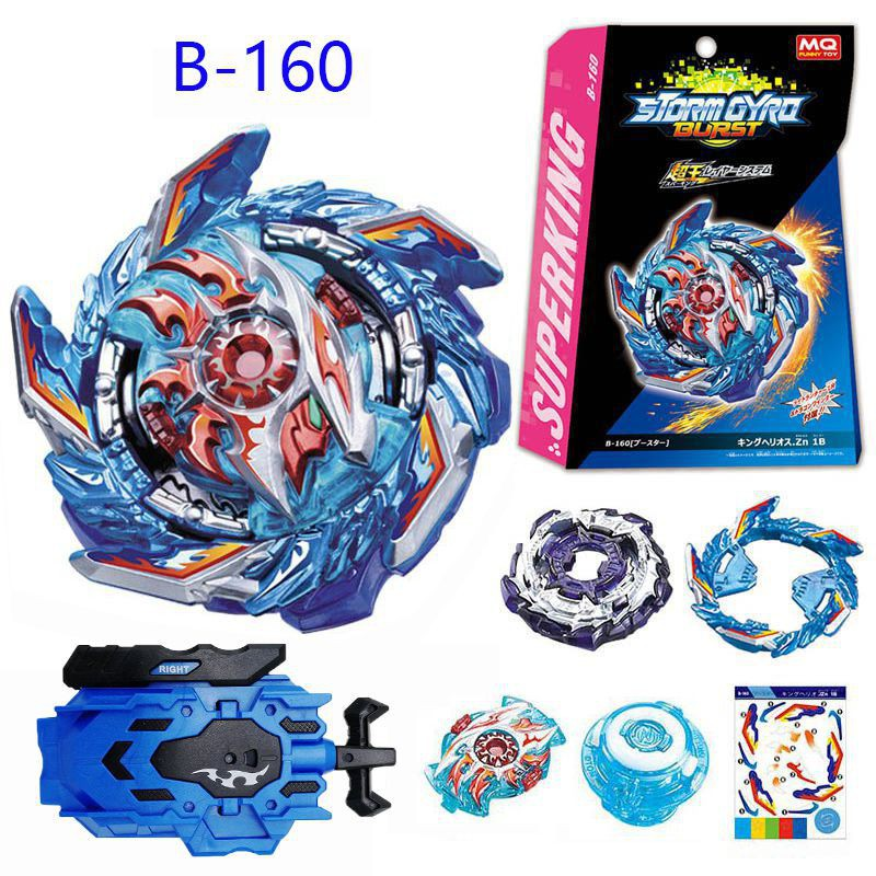 Beyblade Burst B160 Booster King Helios.Zn L/R Toys Gyr Combat Top Launcher