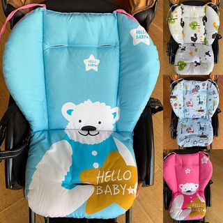Đệm lót xe đẩy em bé mềm mại họa tiết hoa xinh xắn thumbnail