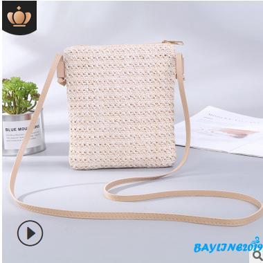 Túi xách đan rơm thời trang nữ