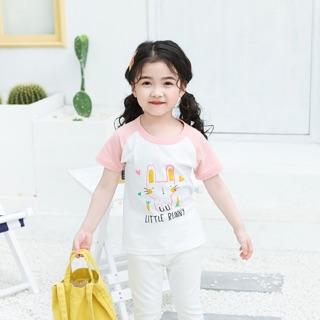 Áo thun bé gái 27Home in hình dễ thương