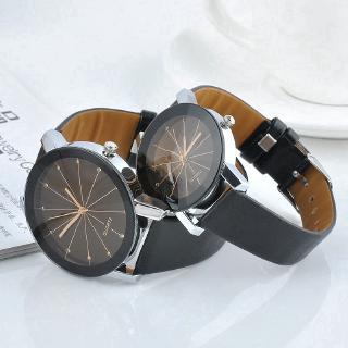 Đồng hồ đeo tay dây da thời trang cho cặp đôi