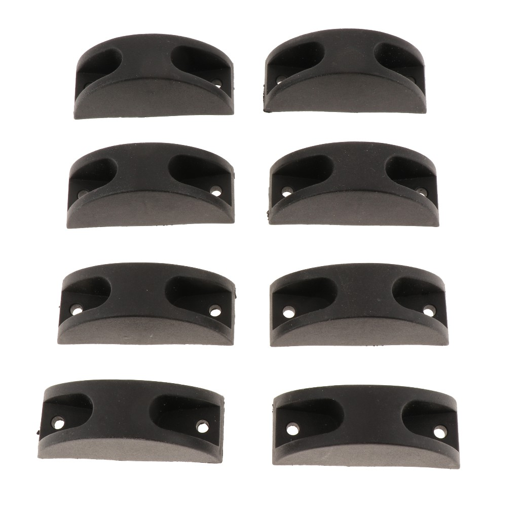 4 Pairs Plastic Bottom Stud Feet Footstand Replacement Part for Luggage/Bag Giá chỉ 129.010₫