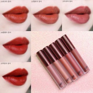 SON KEM LI BBIA LAST VELVET LIP TINT VERSION 5 thumbnail