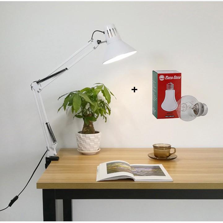 ( GIÁ SỐC) Đèn kẹp bàn chóa cổ điển sang trọng PX02 < ẢNH THẬT 100%> - Tặng bóng Rạng Đông 40w