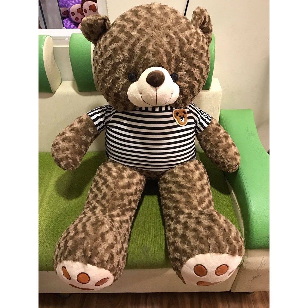 Sale 50% - Gấu Teddy 1m2 - Gấu bông Nâu đen Nm2
