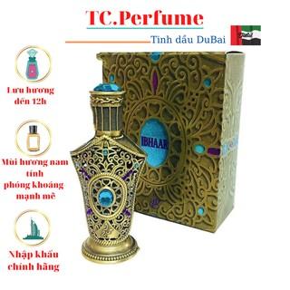 [Chính Hãng] Tinh dầu IBHAAR nội địa DuBai - Dung tích 18ml - Thơm lâu 12h - Mùi hương nam tính - phóng khoáng thumbnail