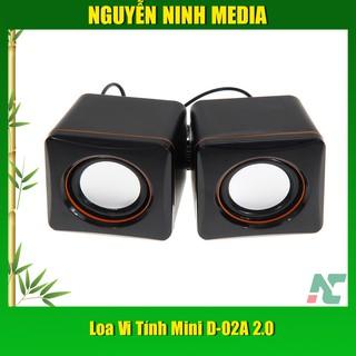 Loa Vi Tính Mini D-02A 2.0