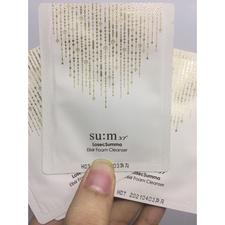 Conbo 10 gói Sua rửa mặt Su M37 Losec Summa Elixir Foam Cleanser thumbnail