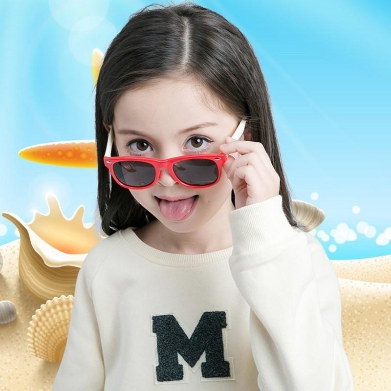 Kính mát bảo vệ mắt thiết kế cổ điển cho bé