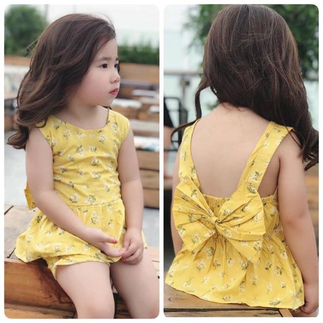 1156453780 - Combo đầm và quần cho bé gái