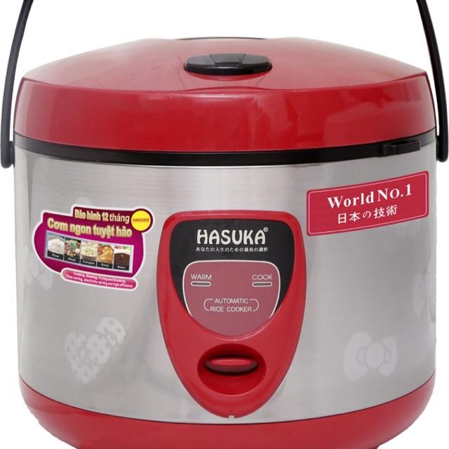 Nồi cơm điện Hasuka HSK 838 - Nồi cơ, 1.8 lít, 7000W