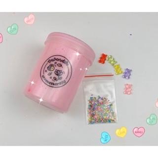 (Dilysetsyslime) Kẹo Bingsu Tan Chảy -Glue Bingsu+Clay – 300ml