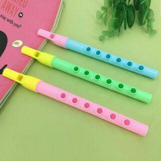 [SALE 10-10] Sáo nhựa 6 lỗ nhiều màu sắc .