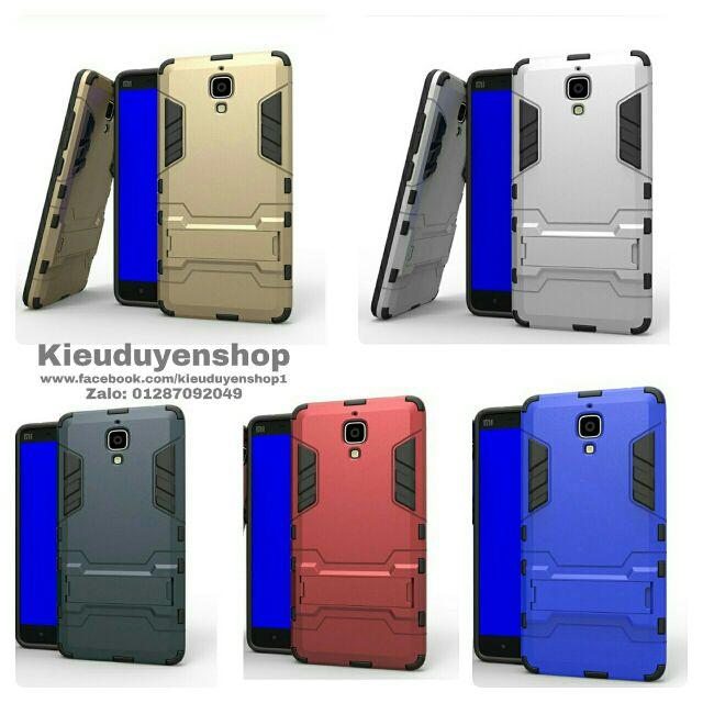 Ốp lưng Xiaomi Mi4 chống sốc Iron Man - 2466085 , 17520042 , 322_17520042 , 90000 , Op-lung-Xiaomi-Mi4-chong-soc-Iron-Man-322_17520042 , shopee.vn , Ốp lưng Xiaomi Mi4 chống sốc Iron Man
