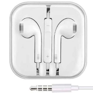 3.5MM Earpiece Wired Earphone With Mic Control Stereo Sound Headset Earphones fone de ouvido for iPhone 6 6s 5S iPad
