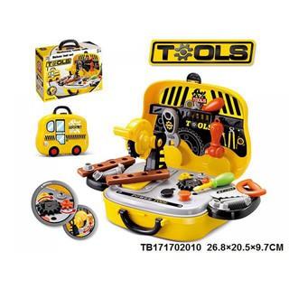 Hộp đồ dụng cụ sửa chữa cơ khí Toys House – Hàng Chính Hãng