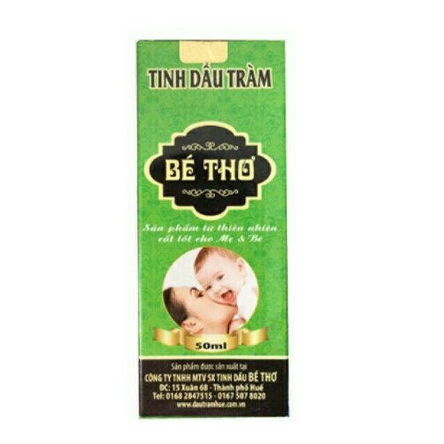 Tinh dầu tràm Bé Thơ - 50ml