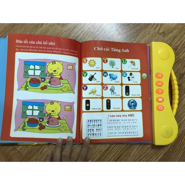 [Giảm 9k cho đơn từ 99k] Sách Song Ngữ Thông Minh Cho Bé .