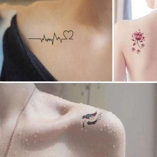 Set ,bộ,gói 30 miếng dán hình xăm nước tatoo xăm tạm thời 15 ngày mini tattoo đẹp lạ