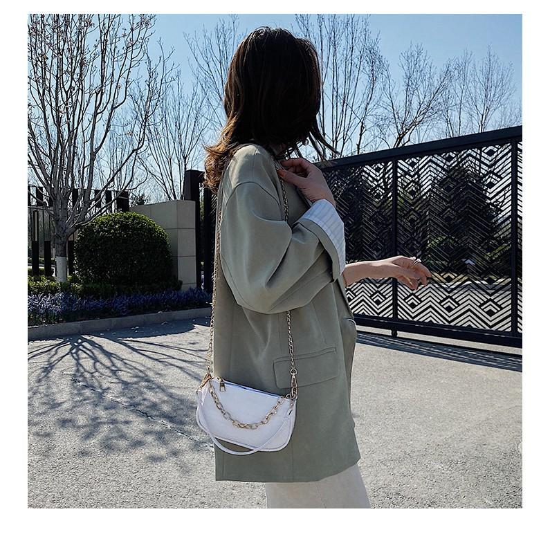 Túi Đeo Vai Nữ Vân Da Nổi Phong Cách Cực Kỳ Trẻ Trung D4010